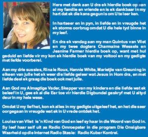 Venster van my Siel - Louisa van Vliet